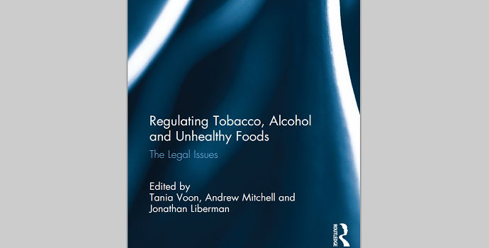New publication on regulation of NCD risk factors