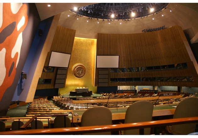 The UN General Assembly in New York - Steve Estavnik/Shutterstock