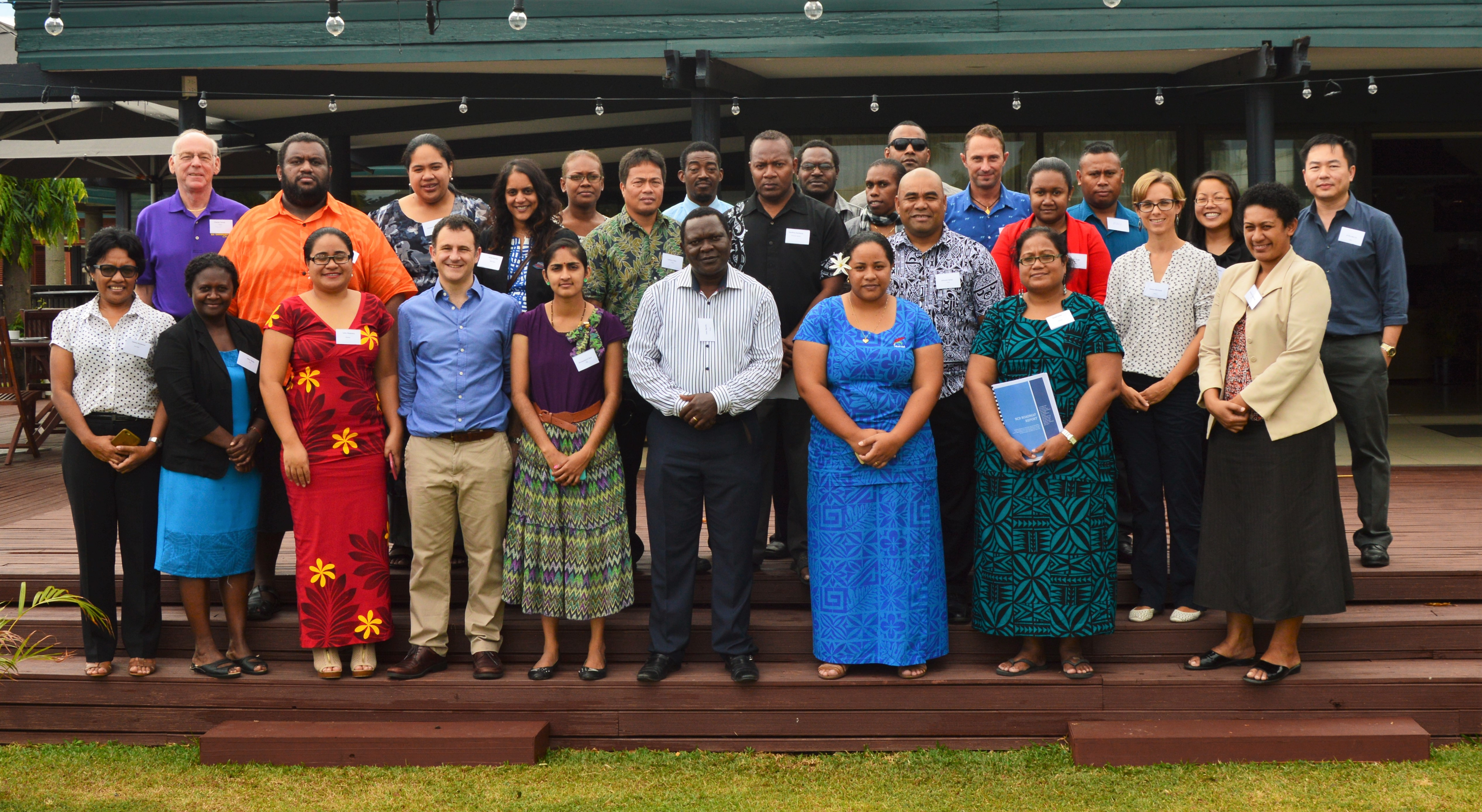 Fiji workshop participants in Lautoka
